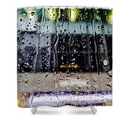 Finding Fault Shower Curtain