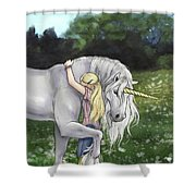 Finding Innocence Shower Curtain