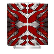 Finding Light In Life Abstract Illustrations By Omashte Shower Curtain