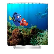 Finding Nemo Shower Curtain