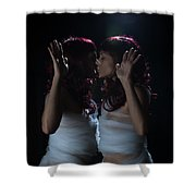 Finding Oneself On The Other Side Shower Curtain