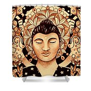 Finding Peace 4 Shower Curtain