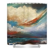 Finding Relief Shower Curtain