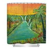 Finding That Place Shower Curtain