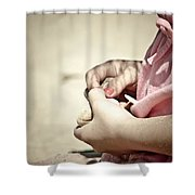 Finding Treasures Shower Curtain