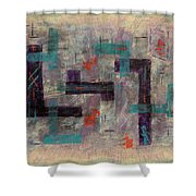 Finding Your Way Shower Curtain