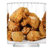 Fine Art Fried Chicken Food Photography Shower Curtain