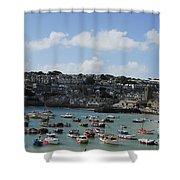 Fine Art - St Ives Harbour Shower Curtain