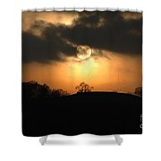Fine Art - Sunset 4 Shower Curtain