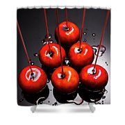 Fine Art Toffee Apple Dessert Shower Curtain