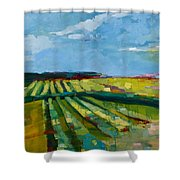 Fine Fields Shower Curtain
