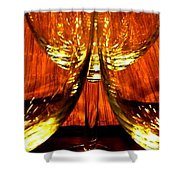 Fine Wine And Dine 1 Shower Curtain
