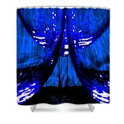 Fine Wine And Dine 2 Shower Curtain
