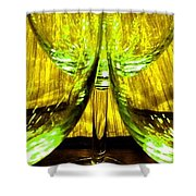 Fine Wine And Dine 4 Shower Curtain