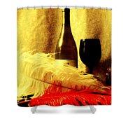 Fine Wine Shower Curtain