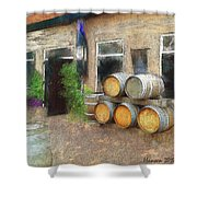 Fine Wine Shower Curtain