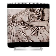 Fingers Shower Curtain