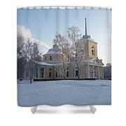 Finland Church Shower Curtain