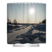 Finland Fortress Shower Curtain