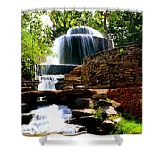 Finlay Park Columbia Sc Summertime Shower Curtain