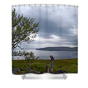 Finnmark Panorama Shower Curtain