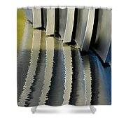 Fins Shower Curtain