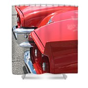 Fins Of Thunder Shower Curtain