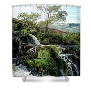 Fintry Loupe Shower Curtain