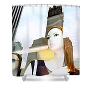 Fiona On 58th St Shower Curtain