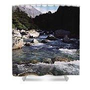 Fiordlands National Park Shower Curtain