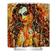 Fire And Desire Shower Curtain