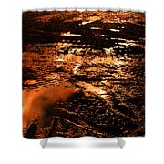 Fire And Water 2 Shower Curtain