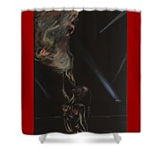 Fire Breather Shower Curtain