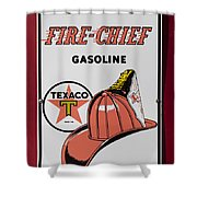 Fire-chief Sign Shower Curtain