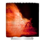Fire Dance Shower Curtain