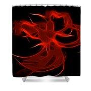 Fire Dancer Shower Curtain