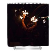 Fire Daredevil Shower Curtain