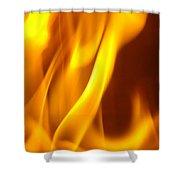 Fire Desire Mesmerized San Francisco Autumn Warmth Baslee Troutman Shower Curtain