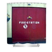 Fire Door In Macroom Ireland Shower Curtain