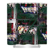 Fire Escape 6 Shower Curtain