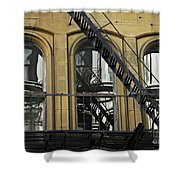 Fire Escape On Franklin Street Shower Curtain