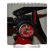 Fire Extinguisher Shower Curtain