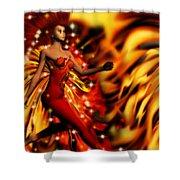 Fire Fae Shower Curtain