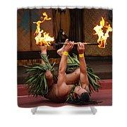 Fire Feat Shower Curtain