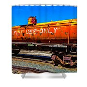 Fire Fighting Tanker Shower Curtain