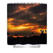 Fire From The North Shower Curtain