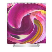 Fire In My Soul Shower Curtain