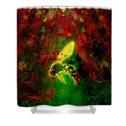 Fire Light Shower Curtain