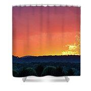 Fire On High Shower Curtain