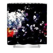 Fire Paper And Wind Shower Curtain